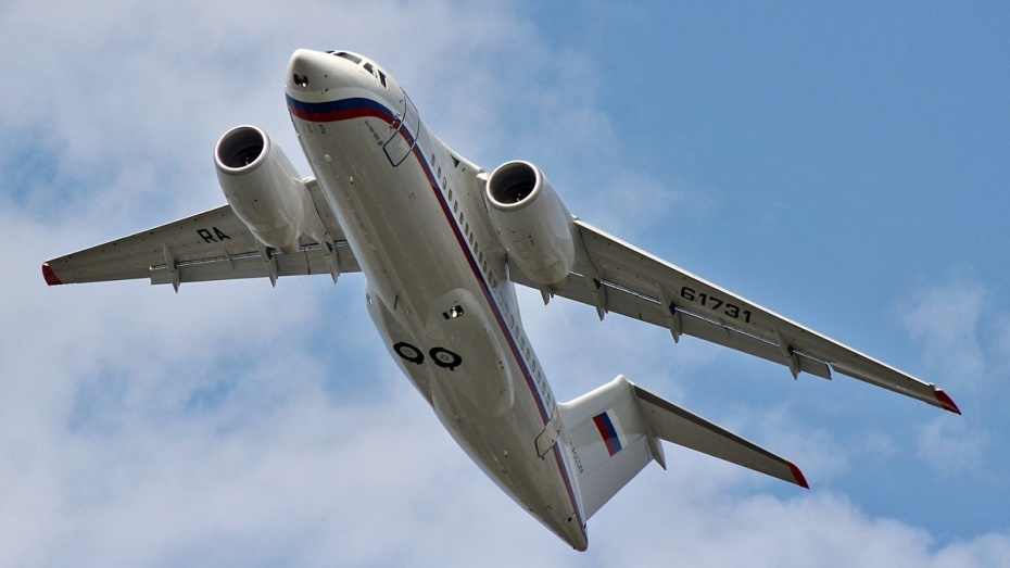 УАн-148 вовремя испытательного полета отказал мотор