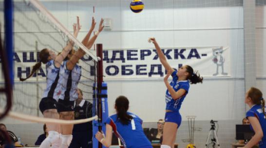 Волейболистки «Воронежа» переиграли «Балтийскую волну»