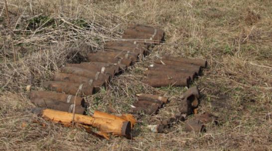 В Каменском районе уничтожили 37 снарядов времен ВОВ