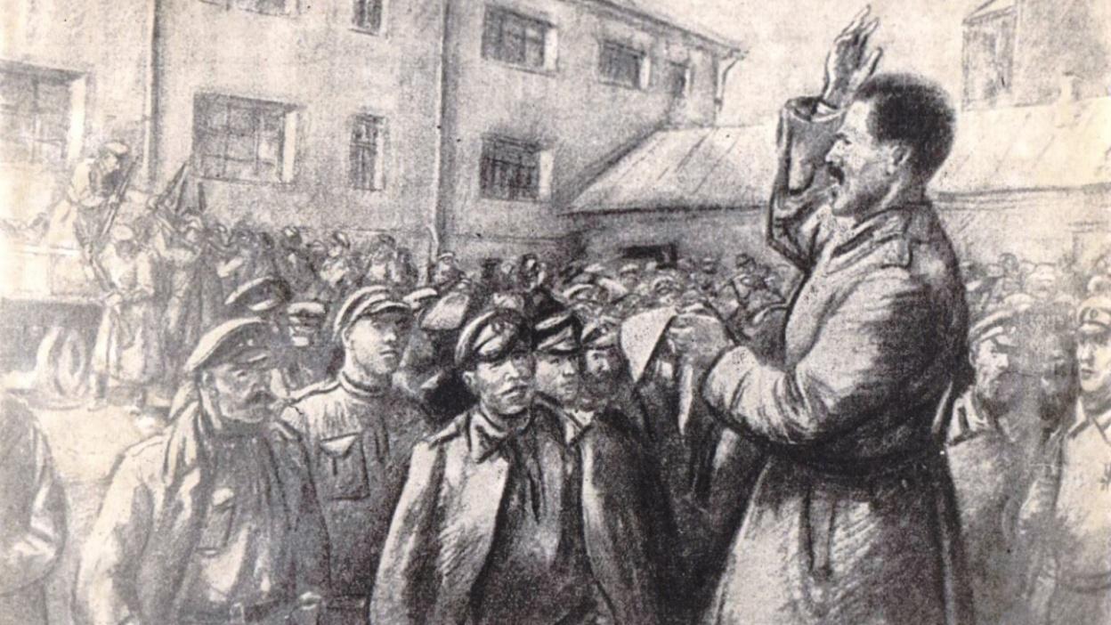 Воронеж в 1917-м. Октябрьская революция