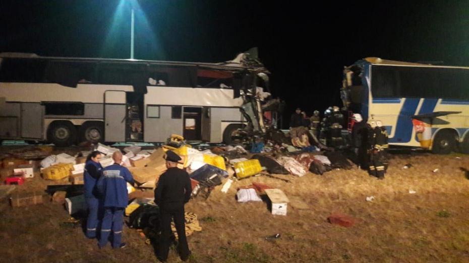 Воронежские следователи начали проверку после гибели 4 человек в аварии с 2 автобусами