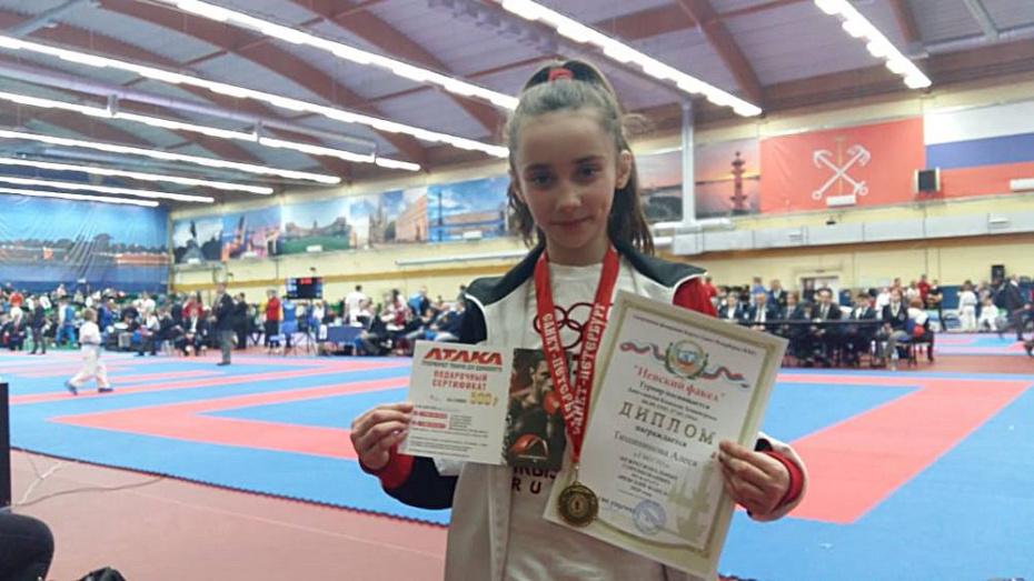Борисоглебская каратистка взяла «золото» всероссийских соревнований в Санкт-Петербурге