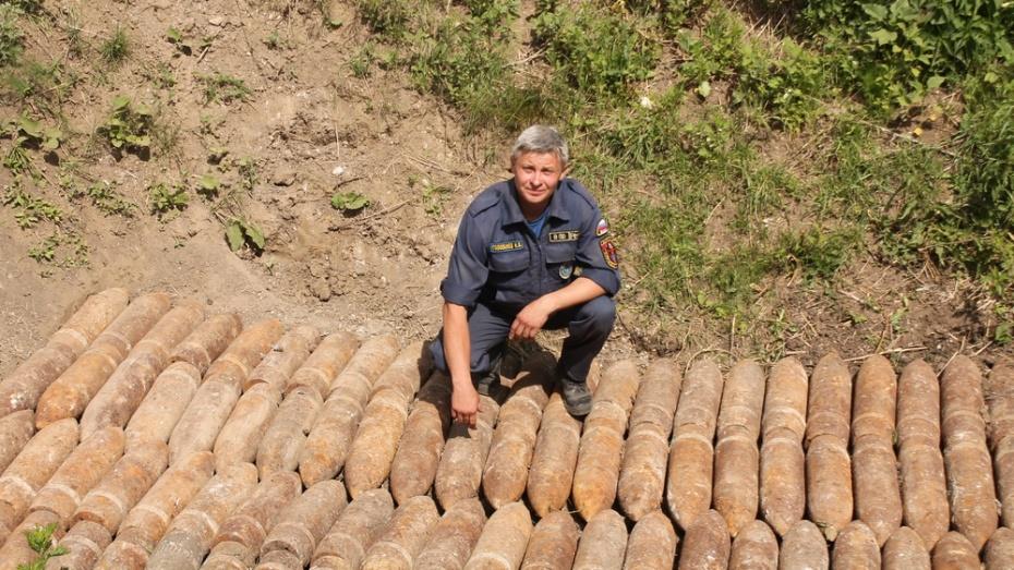 В Хохольском районе за полгода взорвали более 300 боеприпасов времен Великой Отечественной войны