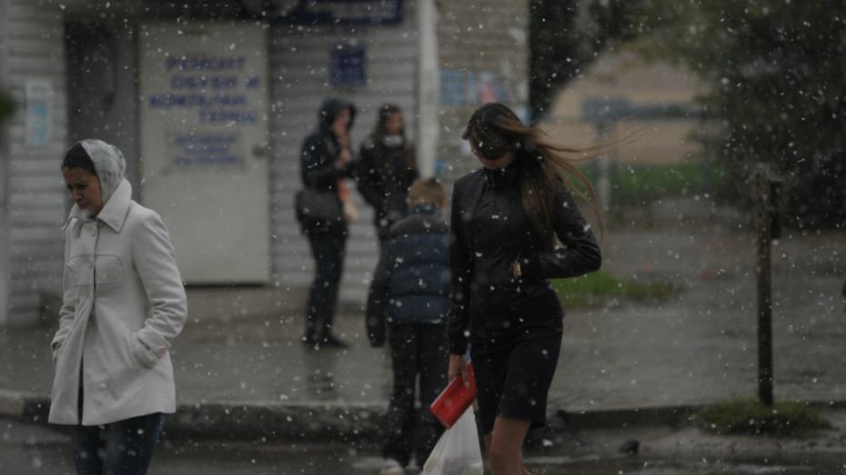 Синоптики спрогнозировали мокрый снег с дождем на ближайших выходных в Воронеже
