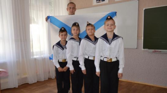 В Павловской школе с углубленным изучением предметов открыли кадетский класс