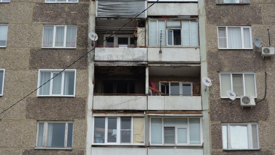 В Россоши из-за пожара эвакуировали 27 жителей многоэтажки