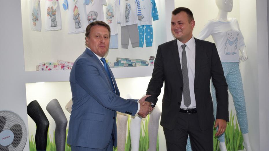 Предприятие Воронежской области начало поставку носков для международной компании