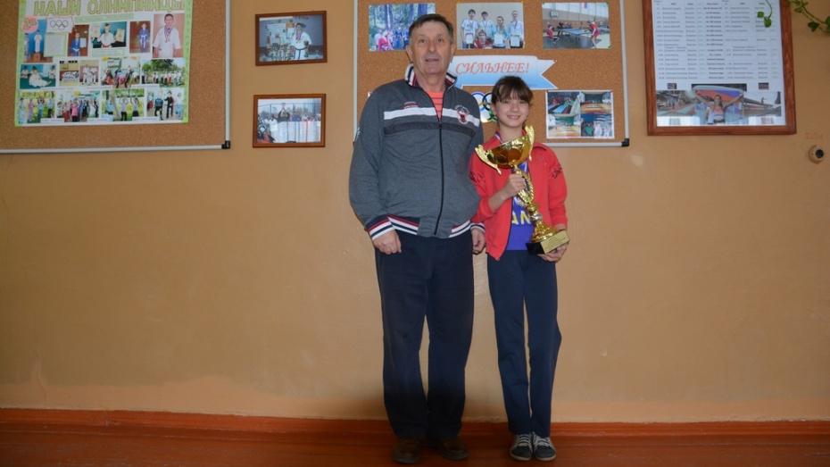 Поворинская легкоатлетка стала лучшей на спартакиаде в Сочи