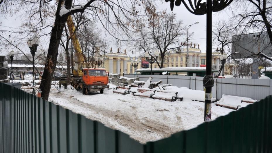 Строительство кафе у вокзала начала компания жены экс-мэра Воронежа Сергея Колиуха