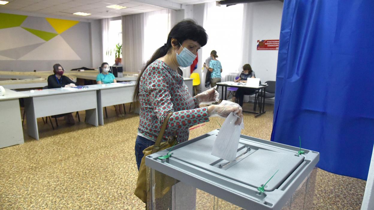 Разметка, маски и перчатки. Как проведут выборы 11–13 сентября в Воронежской области