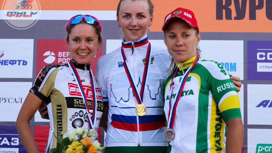 Воронежские велосипедисты завоевали «серебро» и «бронзу» чемпионата России