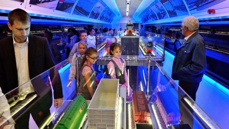 Поезд-музей приедет в Воронежскую область 14 августа