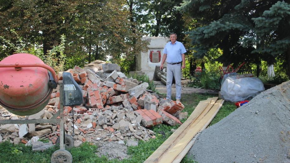В Подгоренском районе отремонтируют воинские захоронения