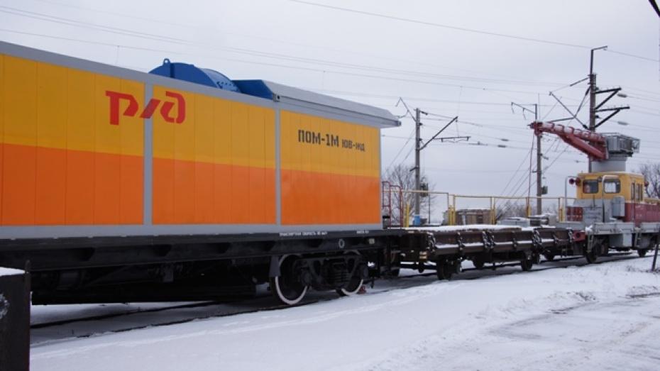 Новохоперский ремонтно-механический завод создал новую пневмообдувочную машину для железной дороги