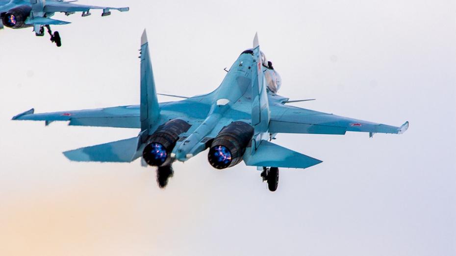 Эскадрилью Су-30СМ вывели из-под удара «противника» на полигоне под Воронежем