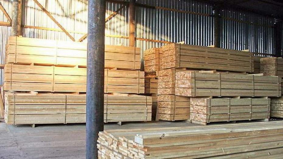 Производство изделий из дерева в Воронежской области за год увеличилось более чем в полтора раза