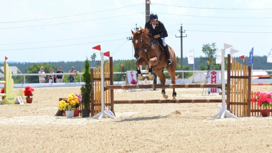 Лискинский спортсмен завоевал 2 «золота» и «бронзу» на Кубке области по конному спорту