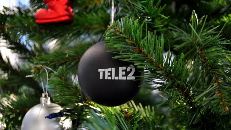 Воронежские абоненты Tele2 в новогоднюю ночь использовали 36 терабайт трафика