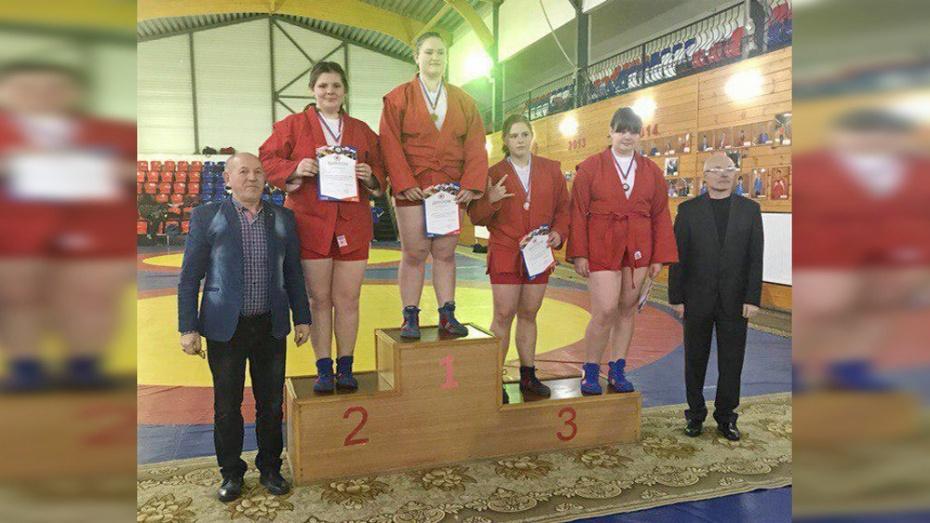 Тульская самбистка стала призером вМосковской области