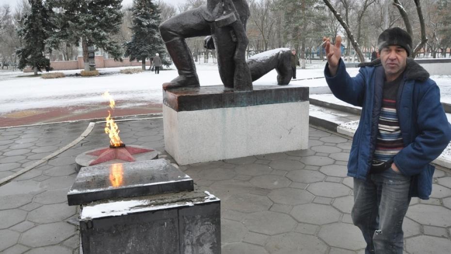 В Воронежской области осквернили воинский мемориал
