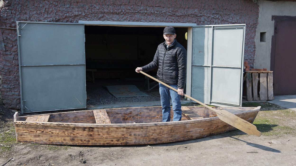 «Как рождается лодка». Воронежский мастер создал более 200 плоскодонок