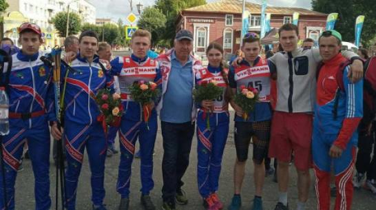 Новоусманский лыжероллер выиграл «золото» на всероссийских соревнованиях