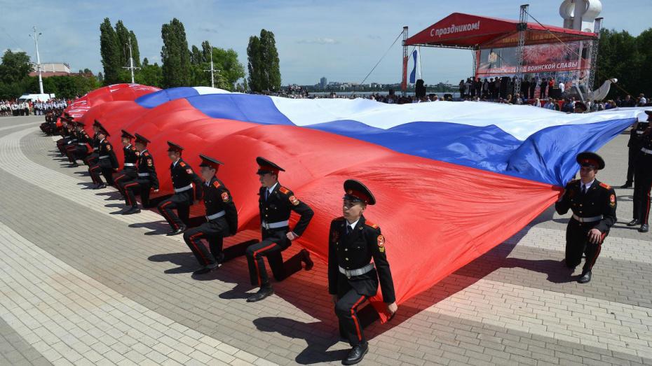 Глава региона и спикер облдумы поздравили воронежцев с Днем флага РФ