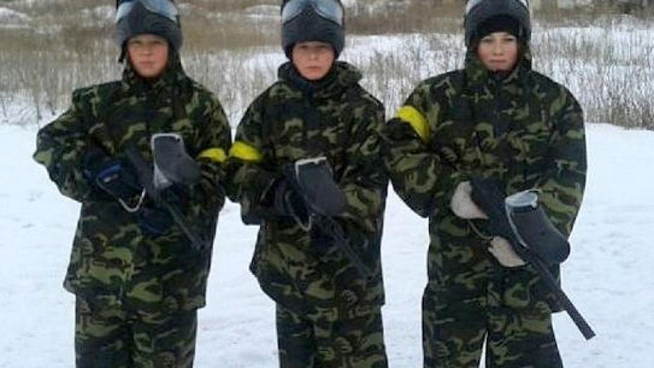 В Терновском районе открылся первый пейнтбольный клуб