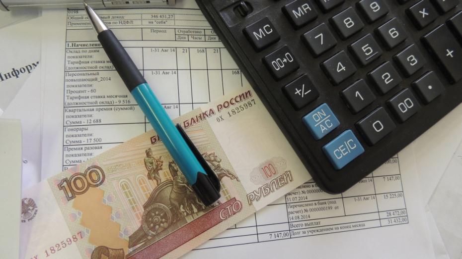 Воронежскую компанию заставили выплатить долги по зарплате