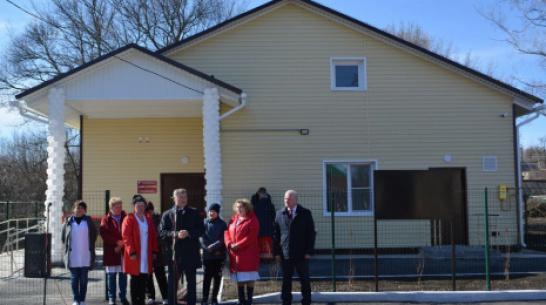 В воробьевском селе Рудня открыли амбулаторию