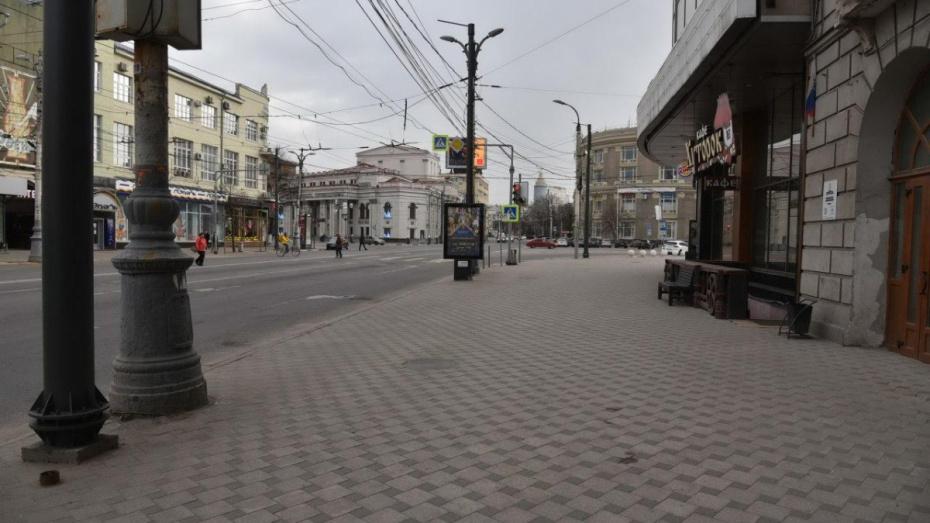 Воронежская область присоединилась к регионам, где ввели режим всеобщей самоизоляции