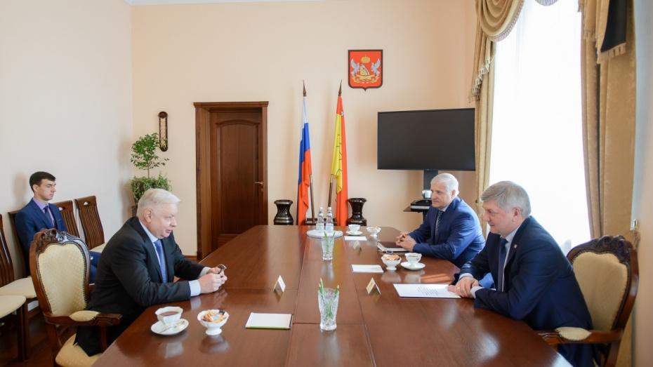 Помощник полпреда президента в ЦФО оценил конкурентоспособность продукции Воронежской области