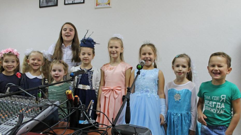 В Лисках появился детский театр песни