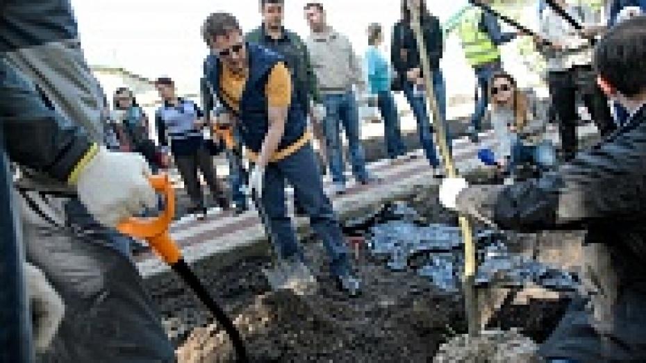 В Воронеже прошел Всероссийский экологический субботник