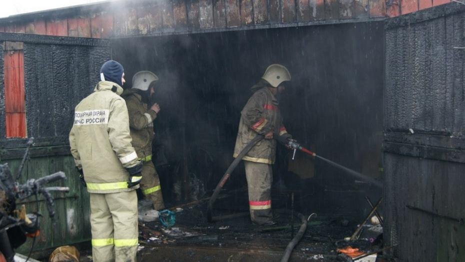 В Ольховатском районе сгорело 3,6 тонны сена