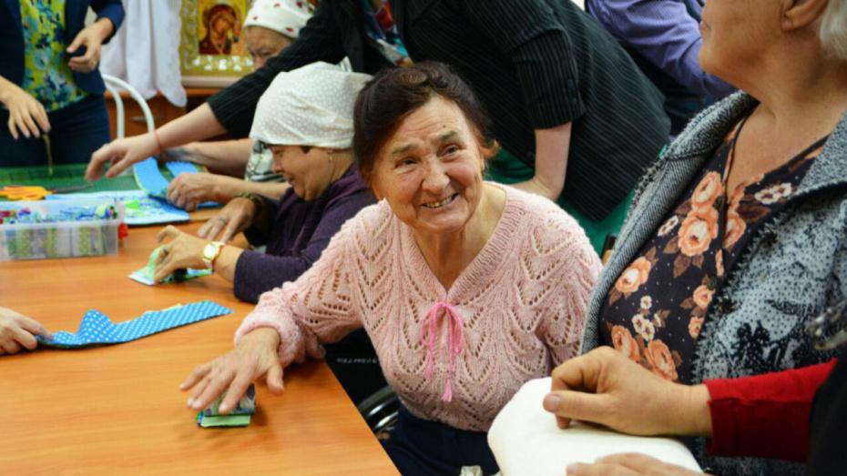 Коллектив Липовского дома-интерната в Воронежской области наградили за заботу о пожилых