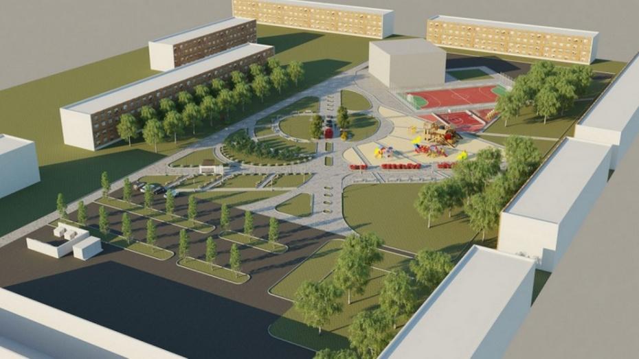 Борисоглебцам предложили обсудить проект благоустройства парка в микрорайоне Северный