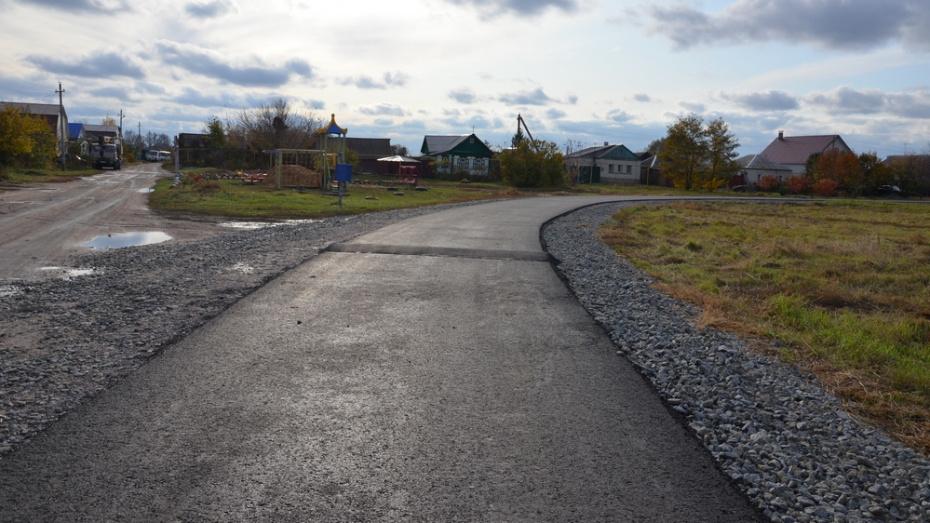 В павловском селе Елизаветовка отремонтируют центральную дорогу
