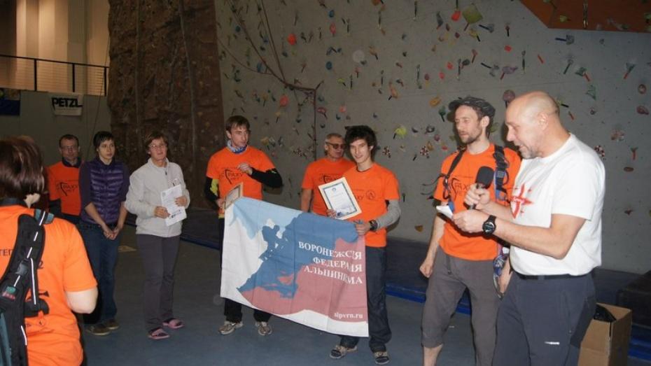 Воронежские альпинисты стали лучшими в стране