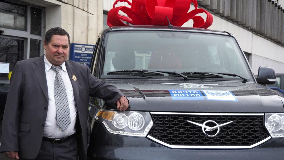 Шоферу почтового фургона, отразившему нападение преступников под Воронежем, подарили вседорожный автомобиль