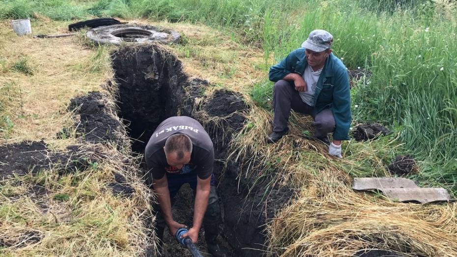 В таловском поселке Бирюч отремонтируют водопровод