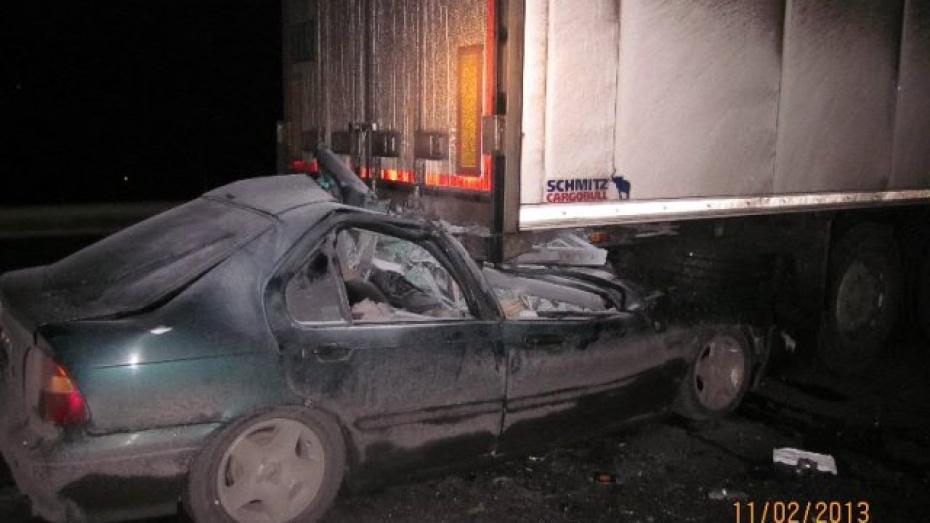 В Новоусманском районе в ДТП погибли четыре человека
