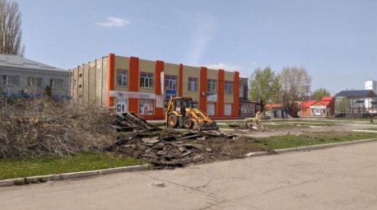 В поселке Таловая обустроят центральную площадь