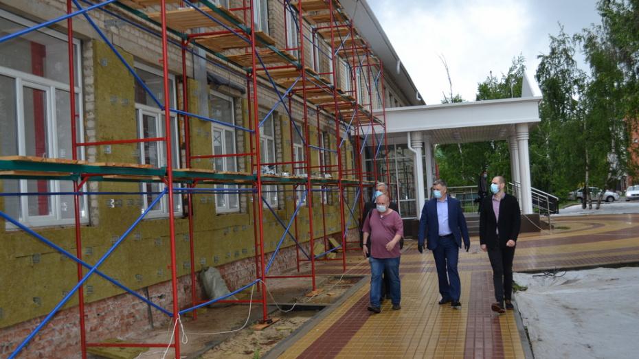 В  Россоши отремонтируют фасад здания детского технопарка «Кванториум»