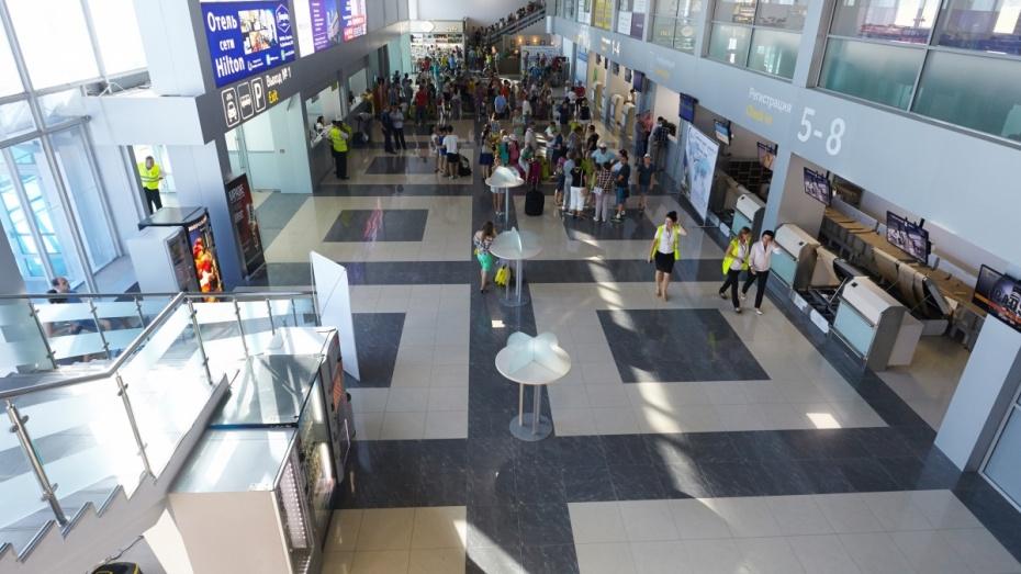Воронежский аэропорт перевез более 54 тыс пассажиров в августе