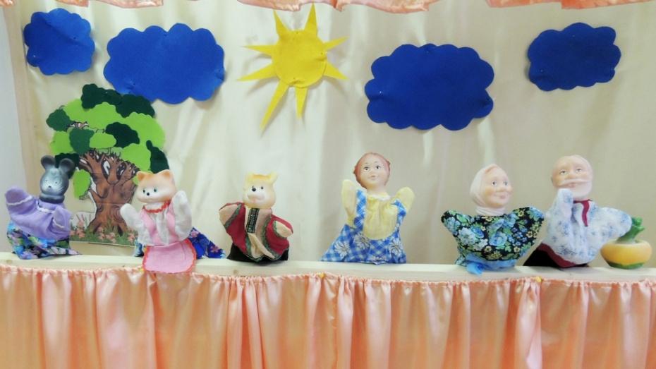 В сельской школе Новохоперского района создали кукольный театр
