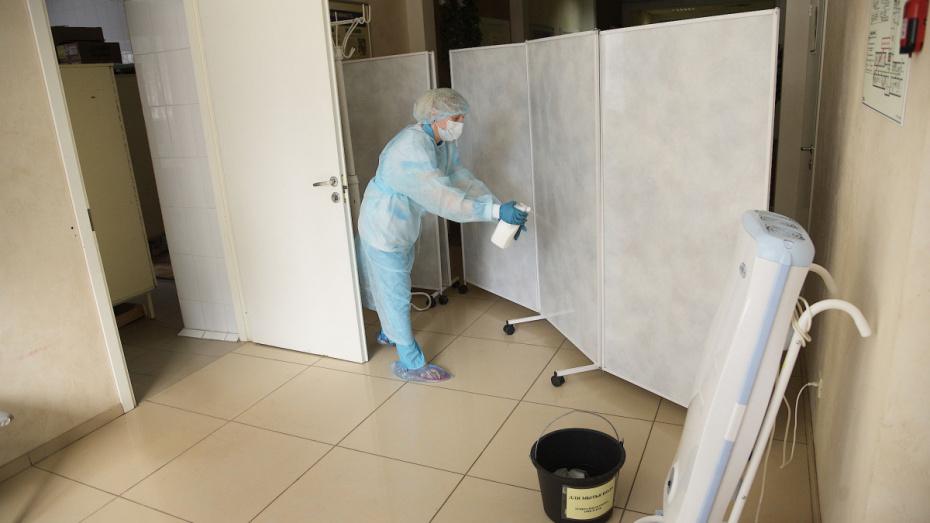 В больнице Воронежской области COVID-19 обнаружили у 13 пациентов и 14 сотрудников