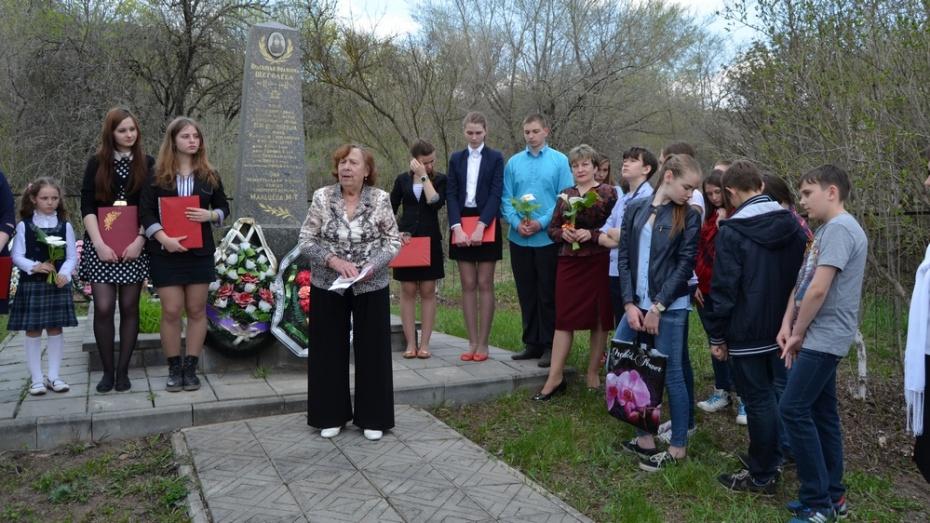 В Семилукском районе объявили конкурс на создание памятника Прасковье Щеголевой