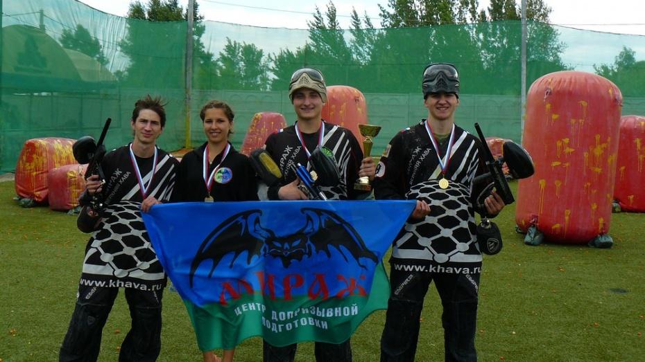 Верхнехавские пейнтболисты завоевали «золото» Открытого кубка области