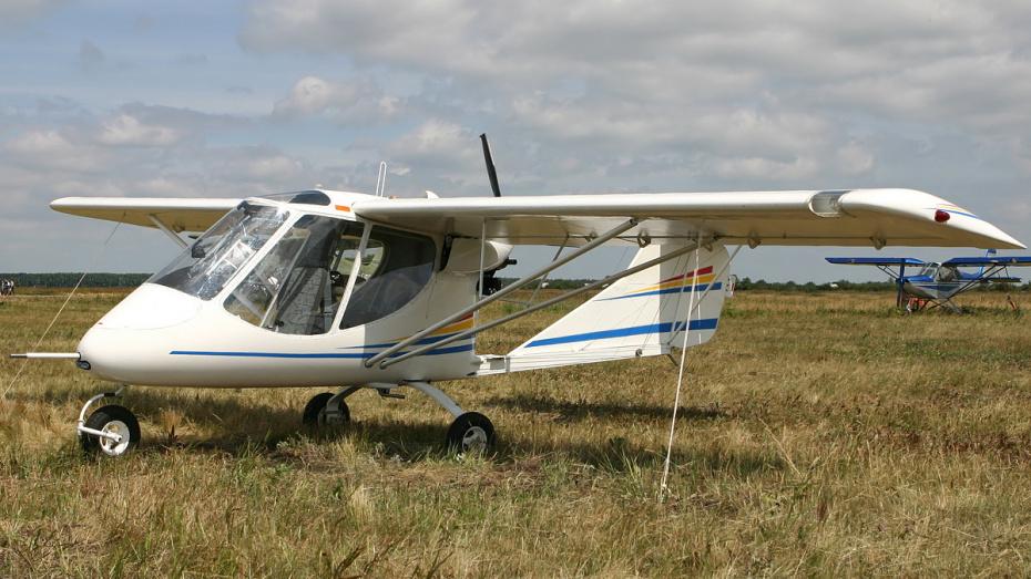 В Воронежской области разбился легкомоторный самолет: пилот погиб
